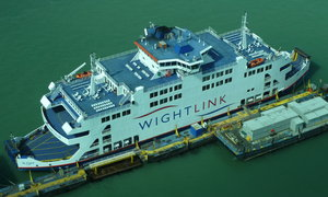 Wightlink car ferry to the IOW