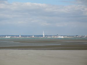 Spinnaker Tower seen from IOW