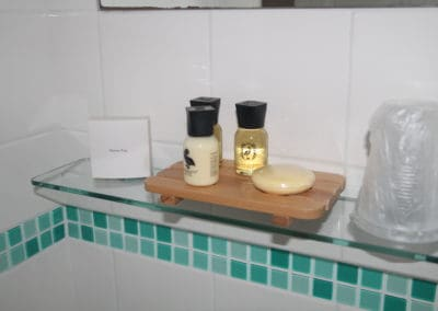 Inroom toiletries